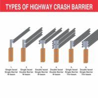 Highway Crash Barriers 1B