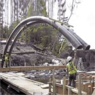 Pipe forming 20